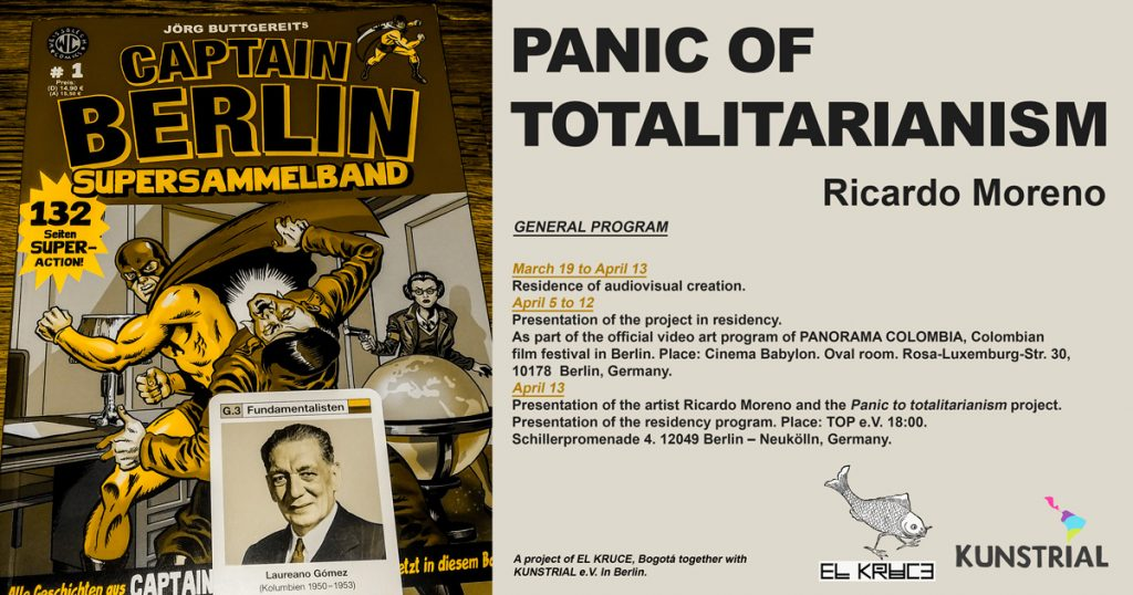 ricardo moreno flyer panic of totalitarianism